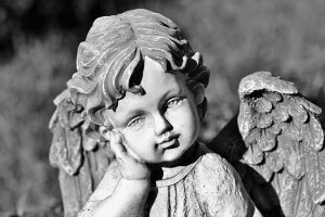 picture of an child angel