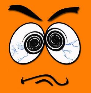 image of crazy eye illustration