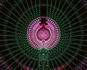 illustration of wave patterns