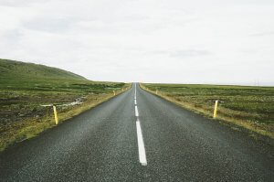 picture of an open highway
