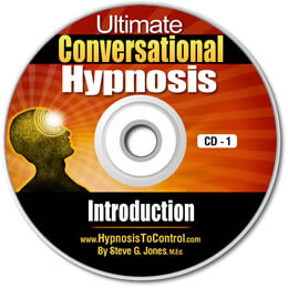 cd cover for conversational hypnosis