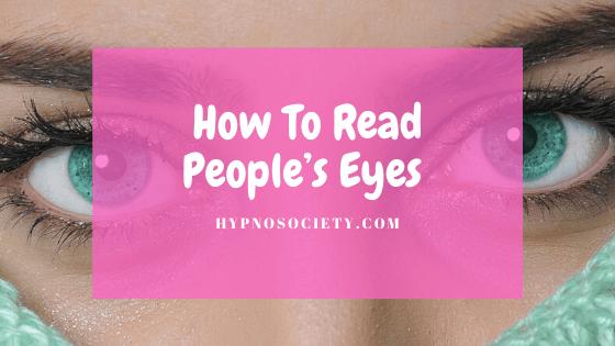 eye espression and hypnosis