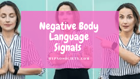 featured image for Negative Body Language Signals