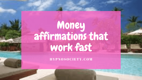 featured image for Money affirmations that work fast